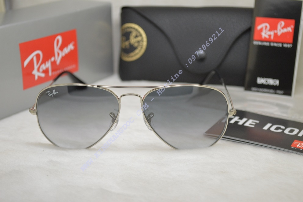 4c2184dd48 Ray-Ban RB3025 003 32 58-14 Aviator Gradient Sunglasses ...