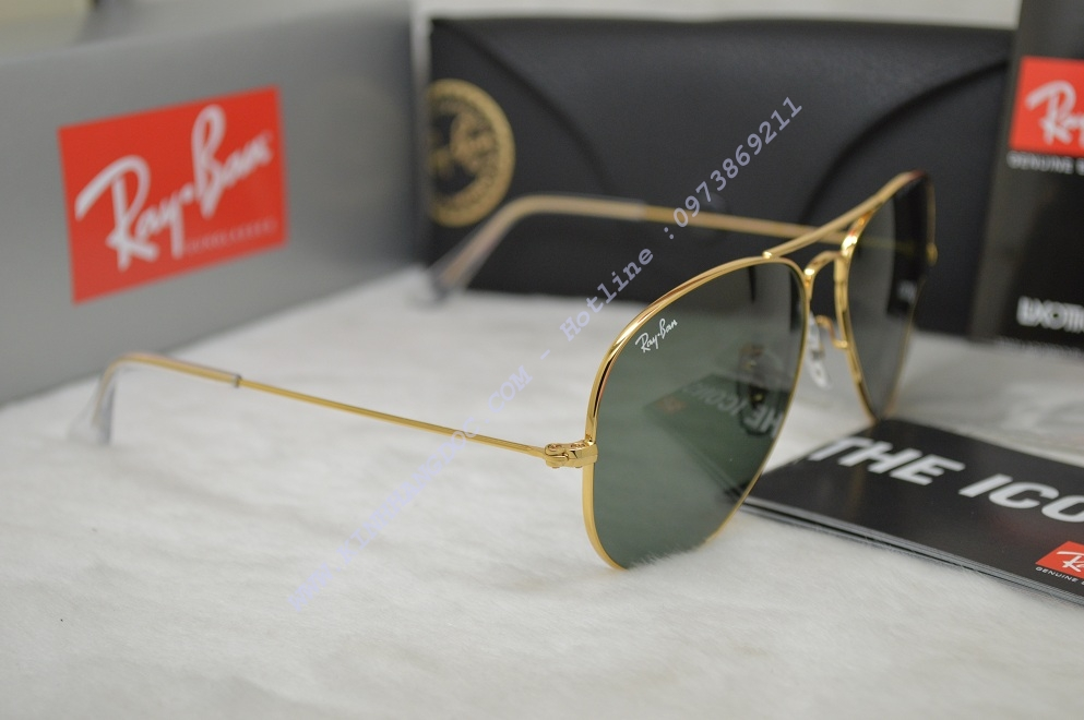 dfdc378848 ... KÍNH MẮT RAYBAN AVIATOR RB3025 L0205 58-14 (AUTHENTIC)