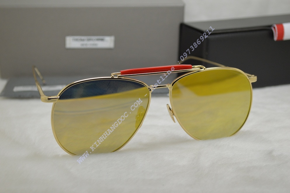 KÍNH MẮT THOM BROWNE TITANIUM YB015 ( GOLD COLOR )